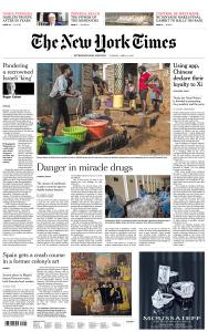 International New York Times - 9 April 2019