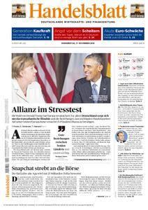 Handelsblatt - 17. November 2016