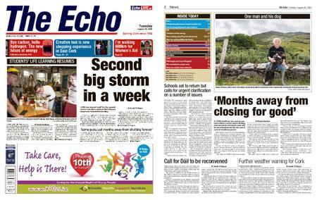 Evening Echo – August 25, 2020