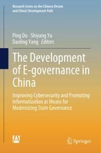 The Development of E-governance in China (Repost)