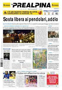 La Prealpina - 9 Dicembre 2017