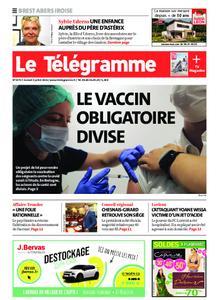 Le Télégramme Brest Abers Iroise – 03 juillet 2021