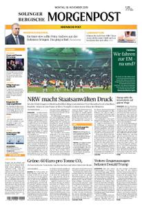 Solinger Morgenpost – 18. November 2019