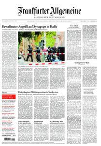 Frankfurter Allgemeine Zeitung F.A.Z. mit Rhein-Main Zeitung - 10. Oktober 2019