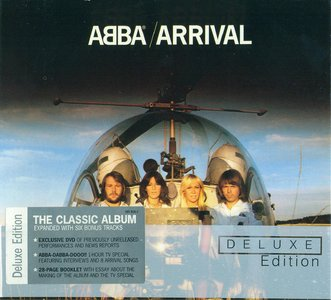 ABBA - Arrival (1976) {2006, Remastered, Deluxe Edition, CD+DVD, Polar, 985836-2}