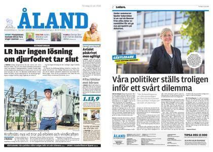 Ålandstidningen – 12 juli 2018