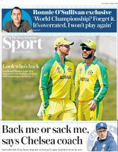 The Daily Telegraph Sport - May 23, 2019