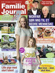 Familie Journal – 15. juli 2019