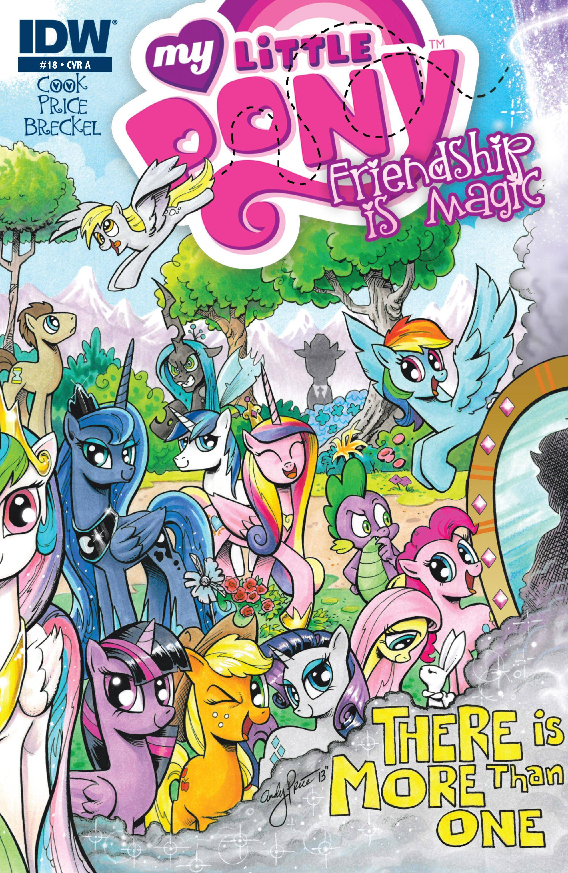 My Little Pony - Friendship Is Magic 018 2014 2 covers digital