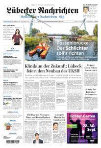 Lübecker Nachrichten Ostholstein Süd - 27. September 2017