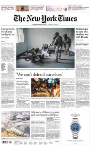 International New York Times - 16 July 2019
