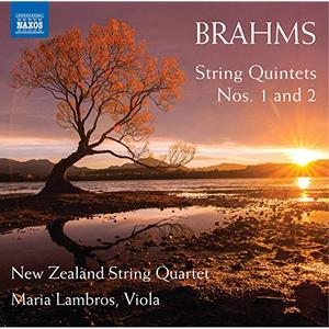 New Zealand String Quartet - Brahms: String Quintets Nos. 1 & 2 (2019)