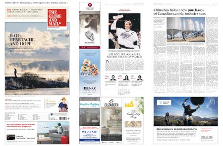 The Globe and Mail – March 23, 2019