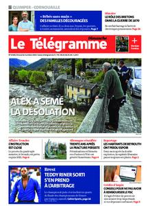 Le Télégramme Quimper – 04 octobre 2020