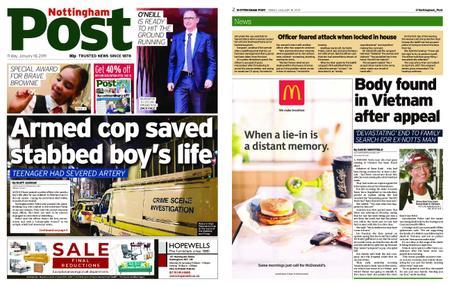 Nottingham Post – January 18, 2019