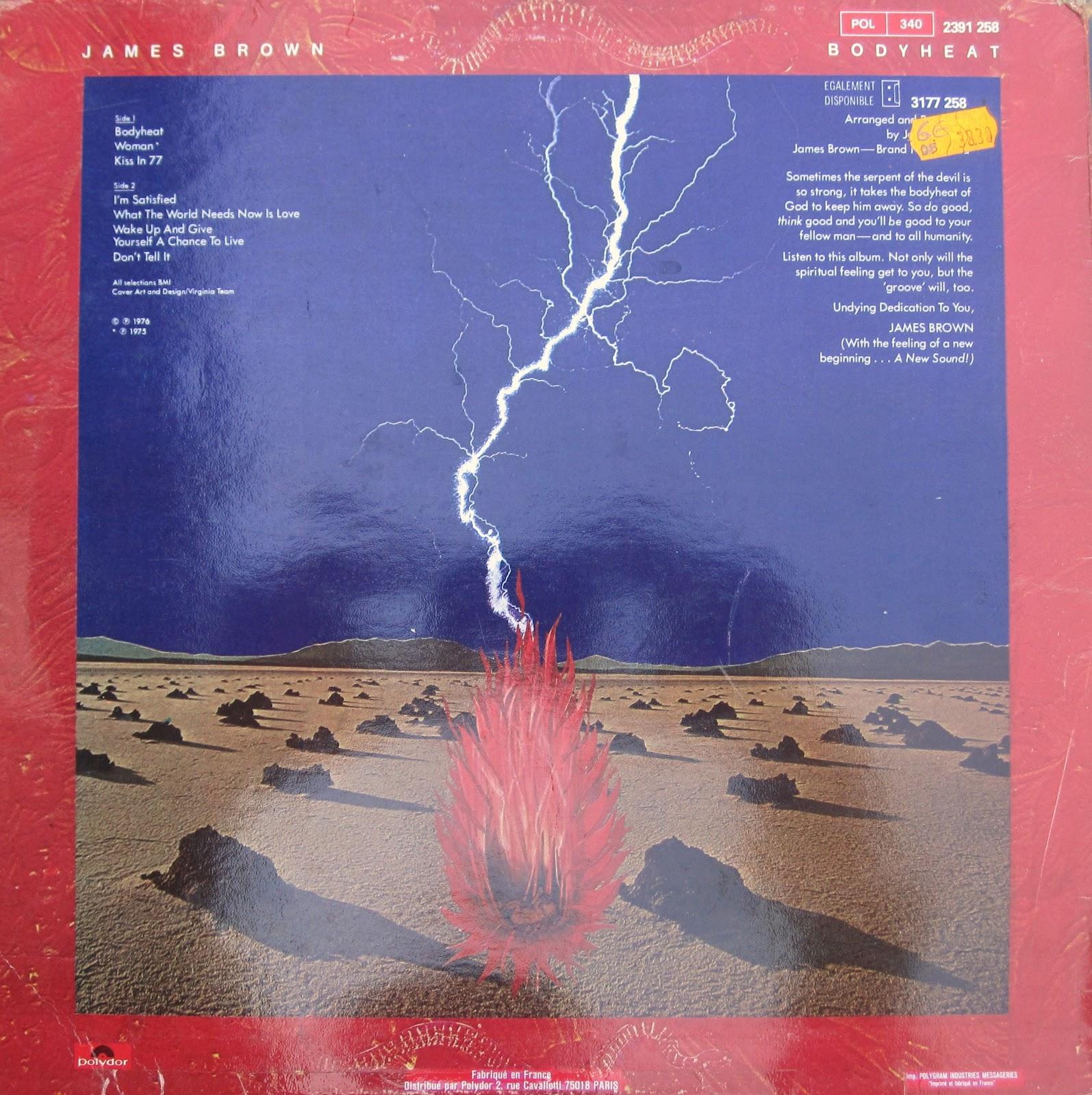 Bodyheat (1976) {2014 Japan Rare Groove Funk