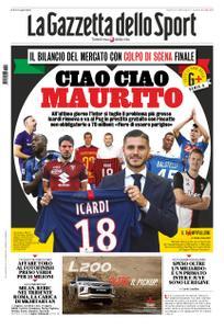 La Gazzetta dello Sport Roma – 03 settembre 2019