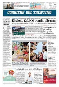 Corriere del Trentino – 21 ottobre 2018