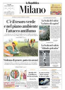 la Repubblica Milano - 22 Novembre 2019