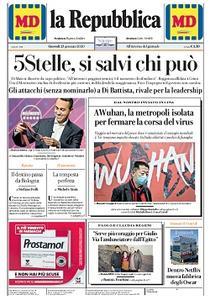 la Repubblica - 23 Gennaio 2020