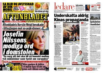 Aftonbladet – 26 mars 2019