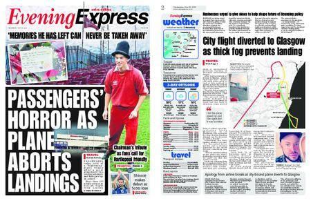 Evening Express – May 30, 2018