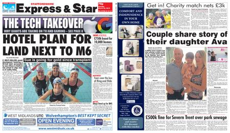 Express and Star Staffordshire Edition – March 26, 2019