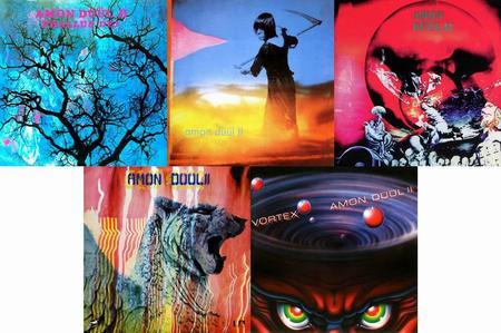 Amon Düül II - 5 Studio Albums (1969-1981) [Deluxe Editions 2005-2007]