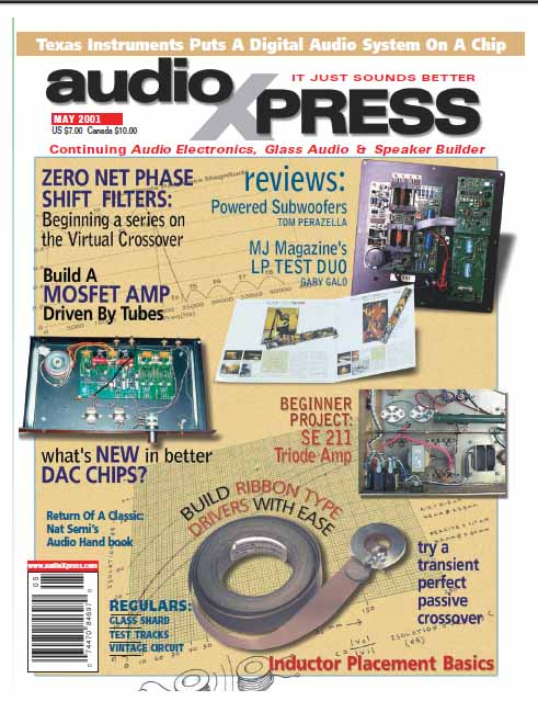 AudioXpress - May 2001