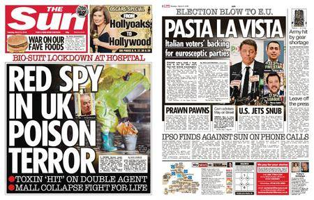 The Sun UK – 06 March 2018