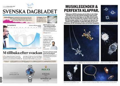 Svenska Dagbladet – 16 december 2017