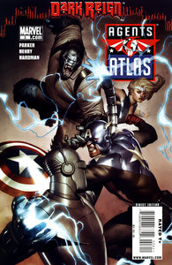 Agents of Atlas ( 1 - 5 ) Ongoing
