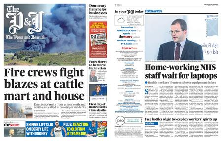 The Press and Journal Moray – June 08, 2020