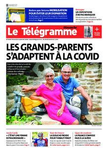 Le Télégramme Brest Abers Iroise – 06 septembre 2020