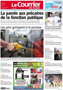 Le Courrier de l'Ouest Angers – 08 mai 2019