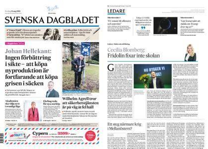 Svenska Dagbladet – 11 maj 2018