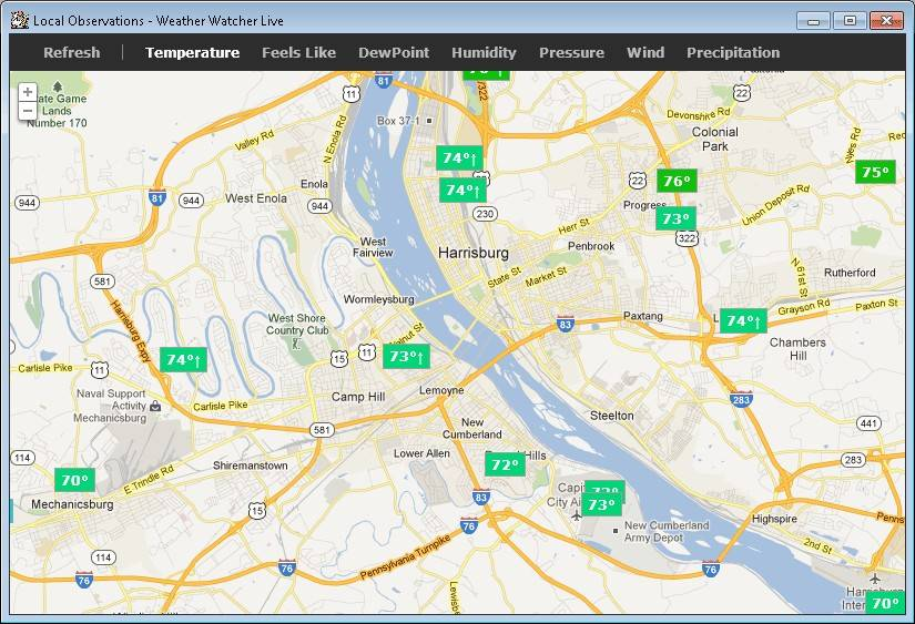 weather watcher live portable