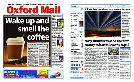 Oxford Mail – August 25, 2018