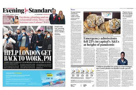 London Evening Standard – May 13, 2021