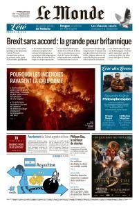 Le Monde du Vendredi 10 Août 2018