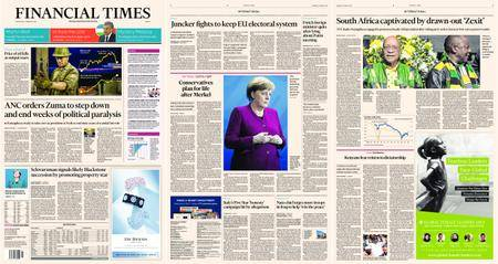 Financial Times Europe – 14 February 2018