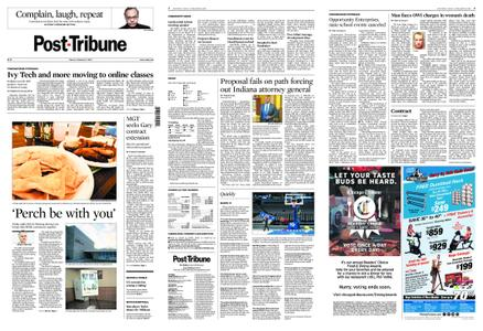 Post-Tribune – March 13, 2020