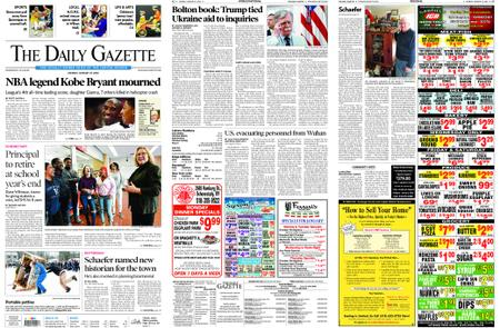 The Daily Gazette – January 27, 2020