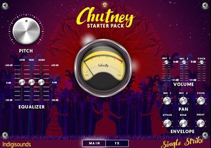 Indigisounds Chutney and Tassa Starter Pack KONTAKT