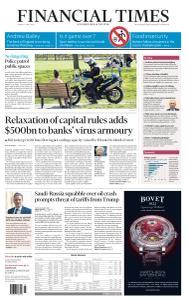 Financial Times UK - April 6, 2020