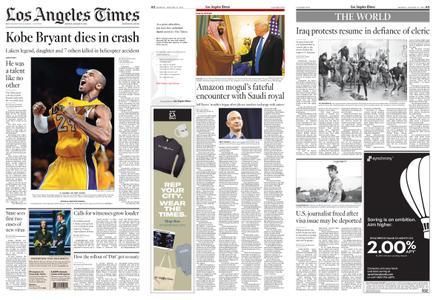 Los Angeles Times – January 27, 2020