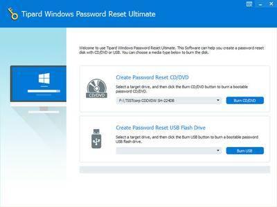 Tipard Windows Password Reset Ultimate 1.0.8 Portable