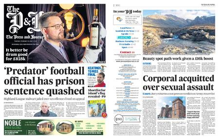 The Press and Journal Moray – February 20, 2020
