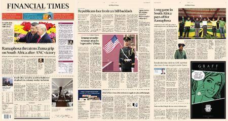 Financial Times Europe – 19 December 2017