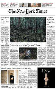 International New York Times - 9 January 2018